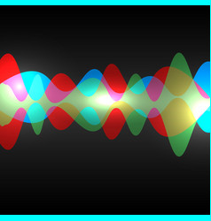 abstract speaking sound wave vector image