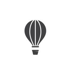 Air balloon icon design vector