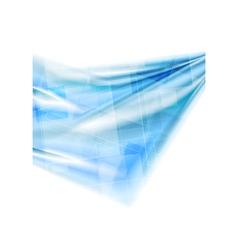 Bright blue hi-tech design vector image