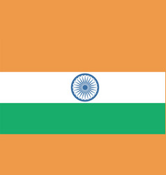 india flag for independence day and infographic vector image
