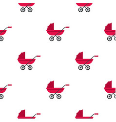 Pram pattern seamless vector