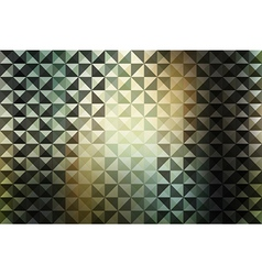creative triangle pattern vector image vector image