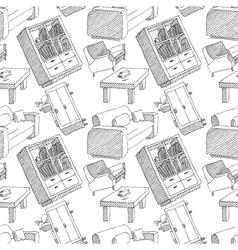 interior seamless pattern vector image
