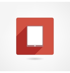 IPad icon vector image