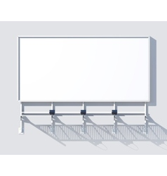 Gallery Billboard Blank vector image vector image