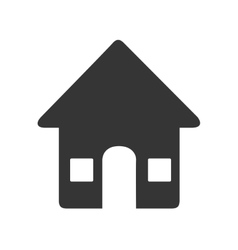 Real estate business icon vector image