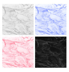 Abstract marbled backgrounds liquid paint colors vector