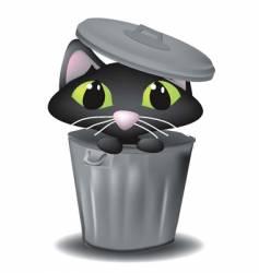 alley cat vector image
