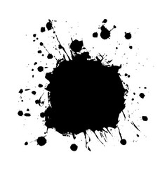 blot black6 vector image