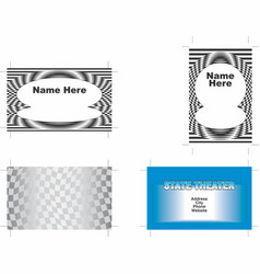 Business cards 1 vector