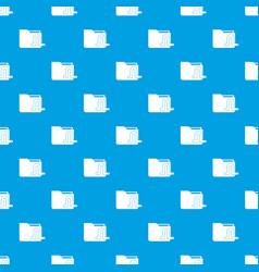 Computer worm pattern seamless blue vector