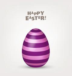 easter egg spring holidays in april gift vector image
