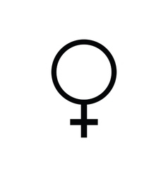 Female symbol Icon vector image