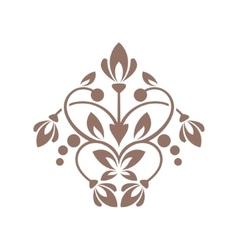Floral element for design vector