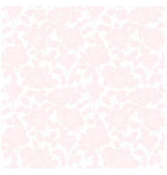 Rosy seamless pattern - background with roses vector