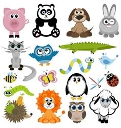 Set of animals vector