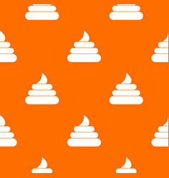 turd pattern seamless vector image