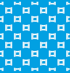 Wet wipes package pattern seamless blue vector