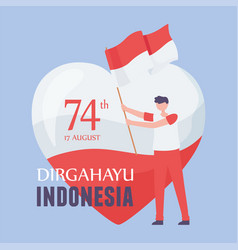 August 17 independence day indonesia vector