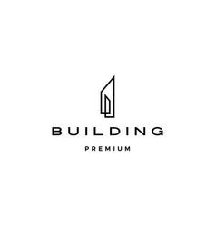 Building logo icon vector