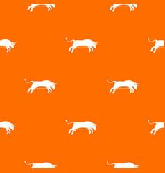 Bull pattern seamless vector