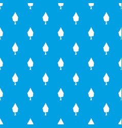 Cypress pattern seamless blue vector
