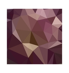 Deep tuscan red purple abstract low polygon vector