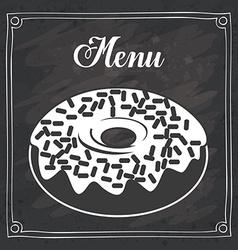 Dessert design vector image