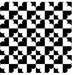 Geometric ornament geometric pattern black and vector