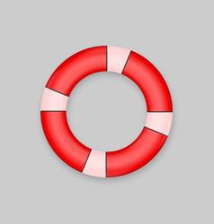 Lifebuoy isolated on white background vector
