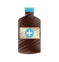 Medication health icon image vector