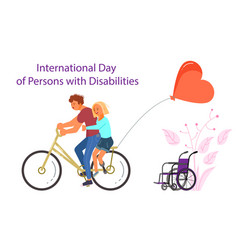 Persons with disabilities vector