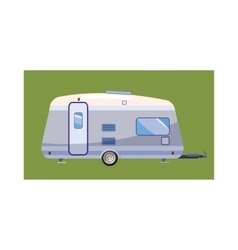 Mobil home icon cartoon style vector image vector image