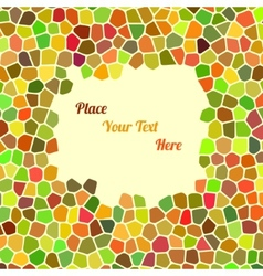 Abstract colorful background with cells for your vector image vector image