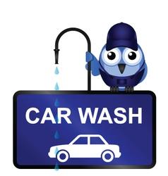 Car Wash Sign vector image vector image