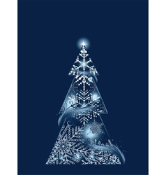Blue Magic Tree vector image