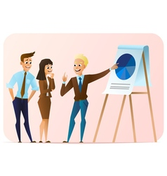 business characters vector image