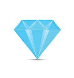 Diamond blue vector