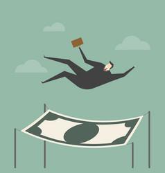 Financial safety vector