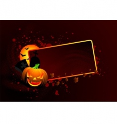 halloween theme vector image