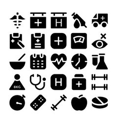 Health Icons 5 vector