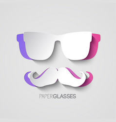 hipster graphic style vector image
