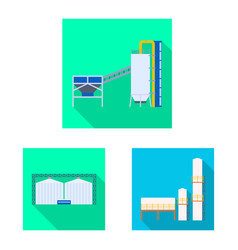 Isolated object architecture and technology vector