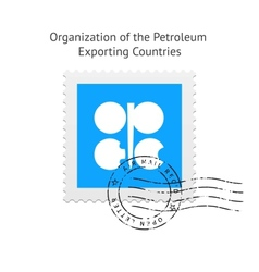 Organization of the Petroleum Exporting Countries vector image