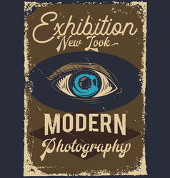 Poster design vector