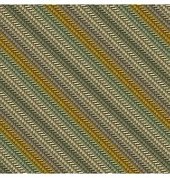 striped herringbone texture vector image vector image