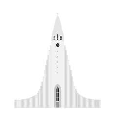 symbol reykjavik iceland vector image
