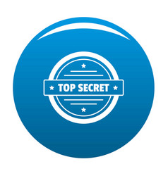 Top secret logo simple style vector