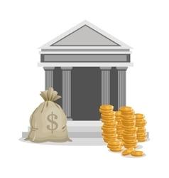 Bank businnes and financial design vector