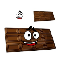 Cartoon chocolate dessert vector image